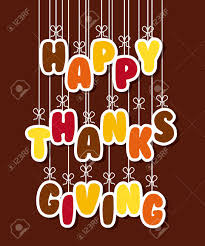 happy thanksgiving design vector illustration eps10 graphic royalty