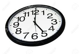 unique 5 o clock wall clock 65 for your best design interior with