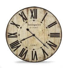 horloge murale 90cm de diamà tre au style industriel antiquitÃ