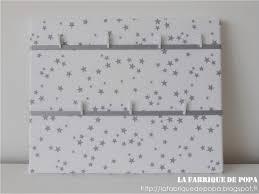 pele mele 41x33 étoiles grises blanc décoration chambre enfant bébé