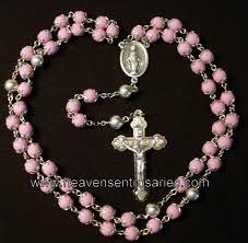 petal rosary flower petal rosaries and chaplets