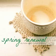 Knitting Home Decor Spring Renewal Diy Home Decor Knitting Patterns Cheap Eats And