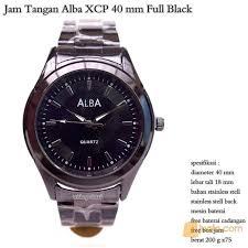 Jam Tangan Alba Putih jam tangan alba pria xcp 40 mm black jakarta pusat jualo