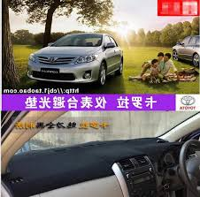 toyota corolla dash mat aliexpress com buy car dashboard covers instrument platform pad