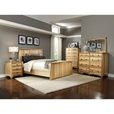 a america adamstown solid hickory panel bedroom set the simple