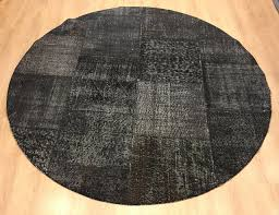 Overdyed Area Rugs by Overdyed Rug 6 5x6 5 Feet Area Rug Old Rug Bohemian Round Rug