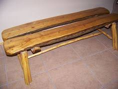 Rustic Log Benches - benches made of warehouse logs rustic log furniture log