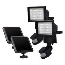 Solar Spot Lights Outdoor Adjustable Detection Sensitivity Solar Spotlights Outdoor