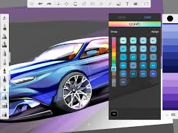 galaxy car paint sketchbook draw and paint android apps on google play