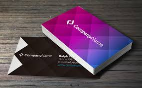free blank business card template for illustrator business card