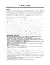 Best Resume Format For Teachers High Teacher Resume Sample Resume Examples 2017