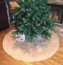 burlap tree skirt tree skirt burlap