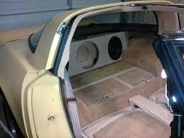 c6 corvette stereo upgrade soundbar speaker system in c3 corvette corvette forum