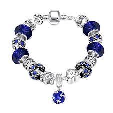 murano glass beads bracelet images Naivo designer inspired crystal snake chain murano jpg
