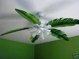leaf ceiling fan with light green ceiling fan venkatweetz me