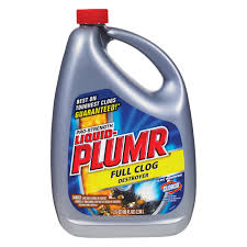 Harmful Household Products Liquid Plumber 80 Oz Professional Full Clog Destroyer 00228