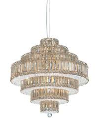 schonbek 6675 plaza 25 inch wide 25 light large pendant capitol