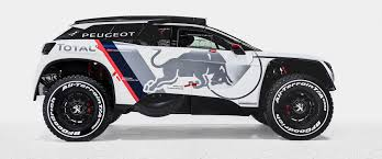 peugeot malta 3008 dkr race car reveals its aggressive bodywork