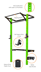 prx performance folding rack for workouts and weight lifting