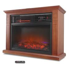 small tabletop electric fireplace desk retro compact heater