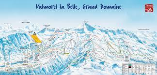 chambre d hote valmorel plan des pistes de valmorel guide des stations ski flv fr