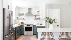 how to get rid of new kitchen cabinet smell before and after kitchen remodels