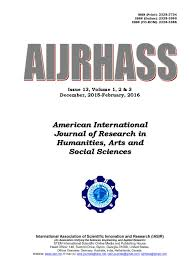 modification si e social sci international journal of research in humanities arts and
