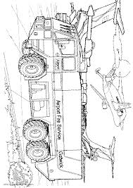 fire tanker truck gmc coloring page