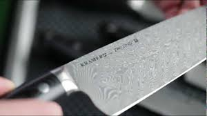 Henkel Kitchen Knives Bob Kramer Damascus Stainless Steel Collection Youtube