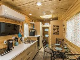 dragonfly tiny house that offers a front and rear deck sarasota