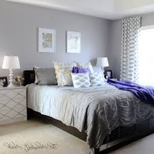 Painting White Bedroom Furniture Black Dark Purple Painting White Bed Sheet Queen Bed On Soft Rug