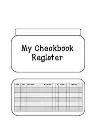 i can write a check deposit slip and balance a checkbook tpt