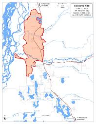 Tanana Alaska Map by Sockeye Fire Sees Little Growth Community Meeting Tonight Ak