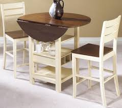 Drop Leaf Kitchen Table For Small Spaces Kitchen Small Kitchen Table With Drop Leaf And 2 Chairs