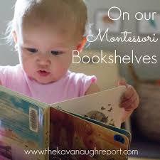 Montessori Bookshelves by On Our Montessori Bookshelves