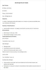 Sample Resume For Fmcg Sales Officer by Sales Resume Template U2013 41 Free Samples Examples Format