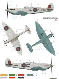supermarine spitfire mk viii high altitude camouflage color