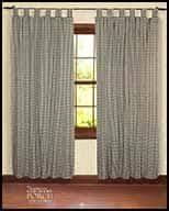 Navy Tab Top Curtains Tab Top Curtain Window Panels