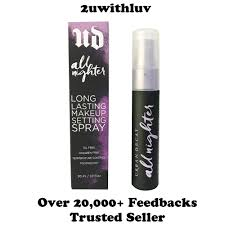 urban decay all nighter long lasting makeup setting spray 30ml