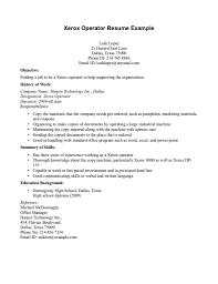 Job Resume Copy by Machine Operator Duties Machine Operator Job Description Machine