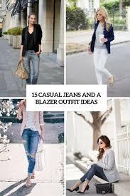casual ideas 15 casual and a blazer ideas styleoholic