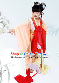 Flower Baby Halloween Costume Chinese Halloween Costumes Kids Baby Hanfu Clothes Toddler