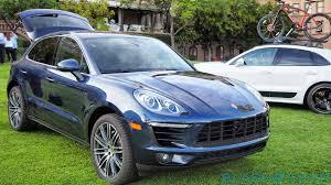 Porsche Macan Blue - first drive 2015 porsche macan s and macan turbo slashgear