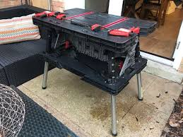 keter portable work table keter portable work table w 2 cls tools machinery in