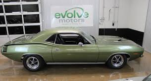 lime green bentley 1970 plymouth cuda 340 restored numbers matching lime green