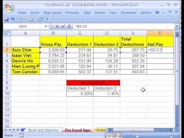 How Do You Do Excel Spreadsheets Excel Basics 3 Formulas W Cell References