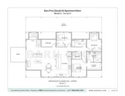 Pole Barn With Apartment Plans Barns With Living Quarters Denali Barn Barn Pros