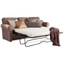sleeper sofa with memory foam mattress furniture zinus cool gel memory foam 5 inch sleeper sofa mattress full