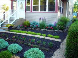 Front Lawn Landscaping Designs by Yard Landscaping Ideas With Mulch The Garden Best No Grass On