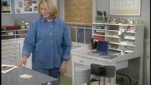 martha stewart desk blotter video how to organize your home office martha stewart